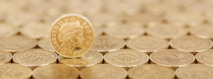 Money: Pound coins